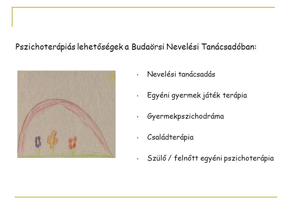 Pszichoterápiás lehetőségek a Budaörsi Nevelési Tanácsadóban: