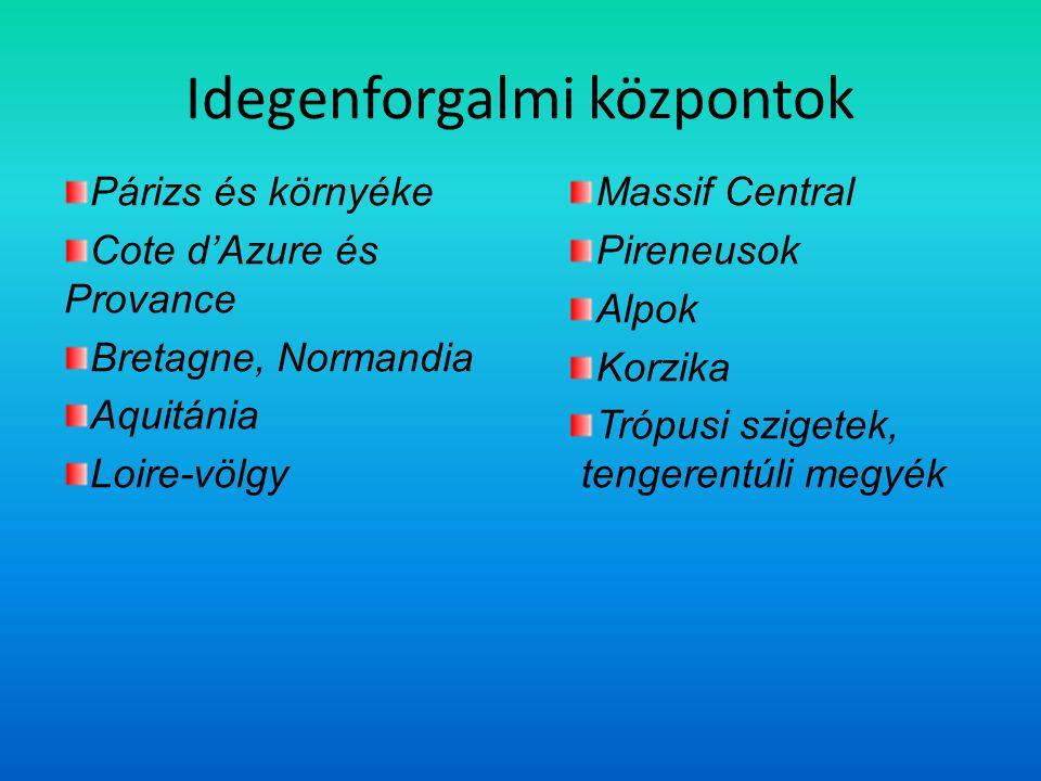 Idegenforgalmi központok