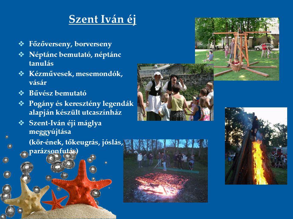 Szent Iván éj Főzőverseny, borverseny