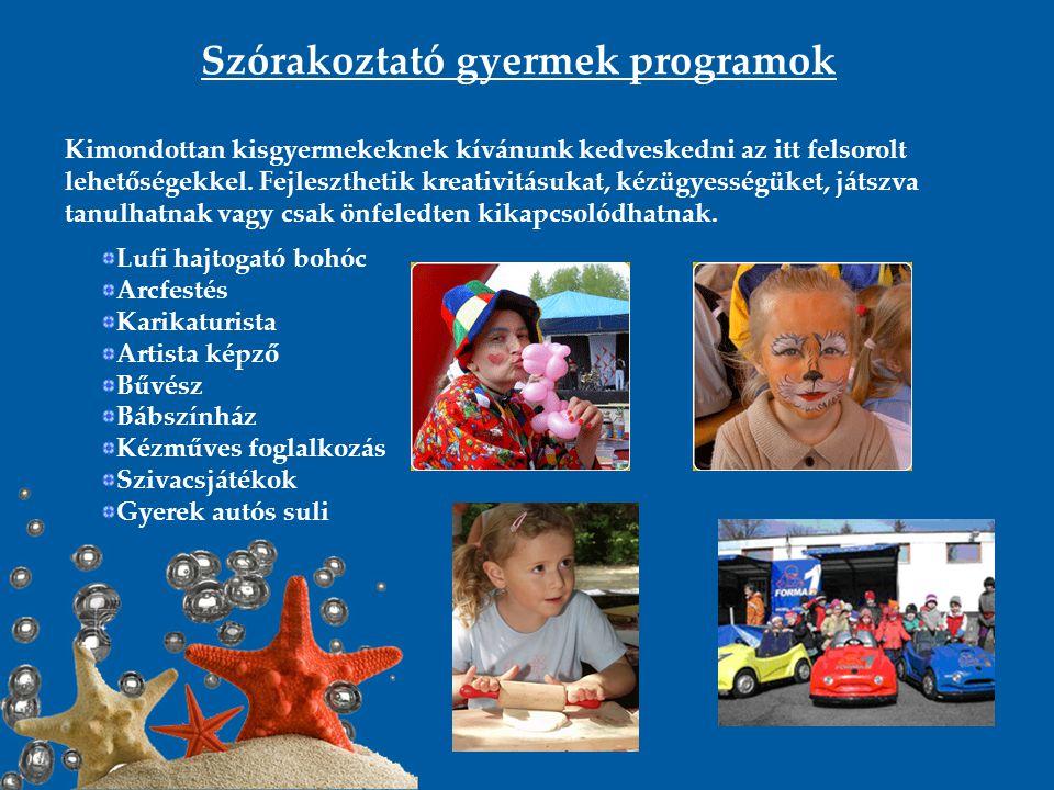 Szórakoztató gyermek programok
