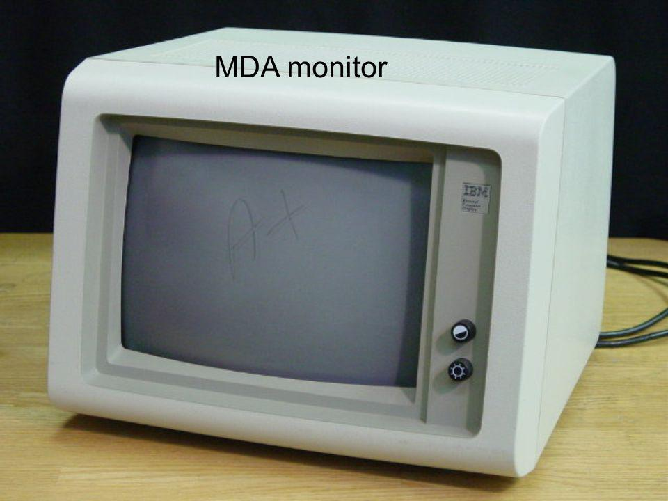 MDA monitor