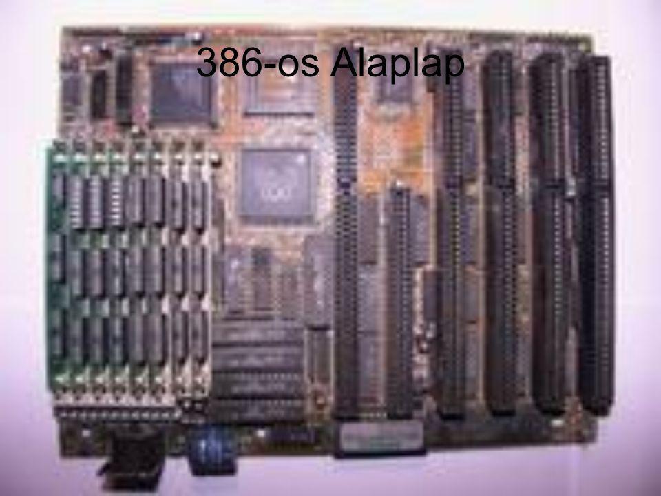 386-os Alaplap