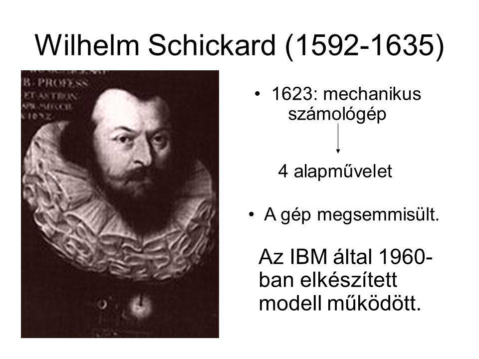 1623: mechanikus számológép