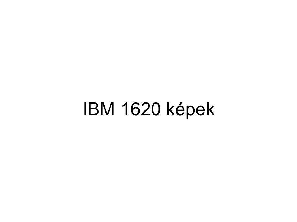 IBM 1620 képek