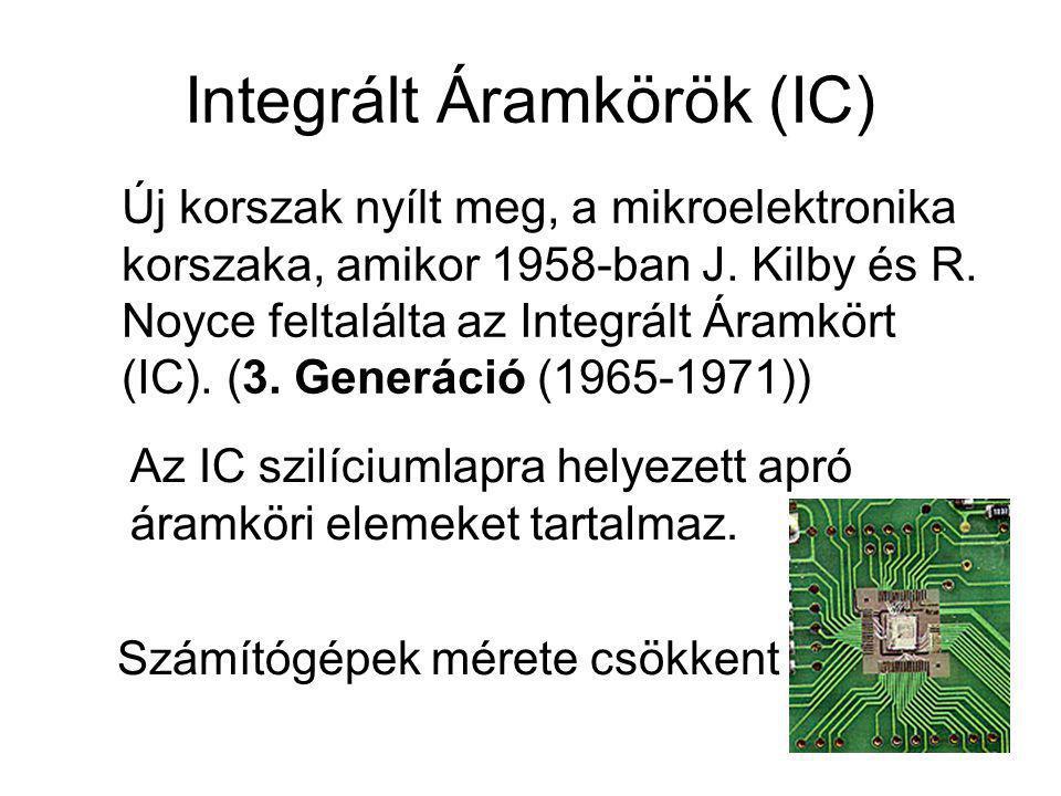Integrált Áramkörök (IC)