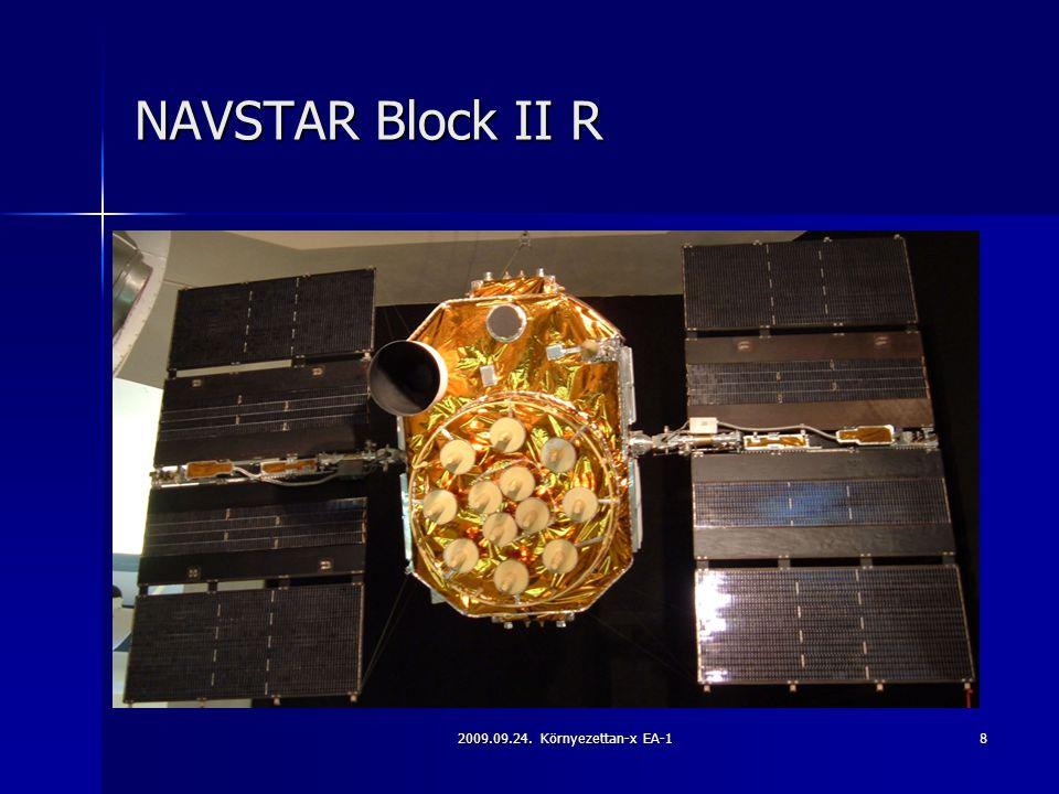 NAVSTAR Block II R 2009.09.24. Környezettan-x EA-1
