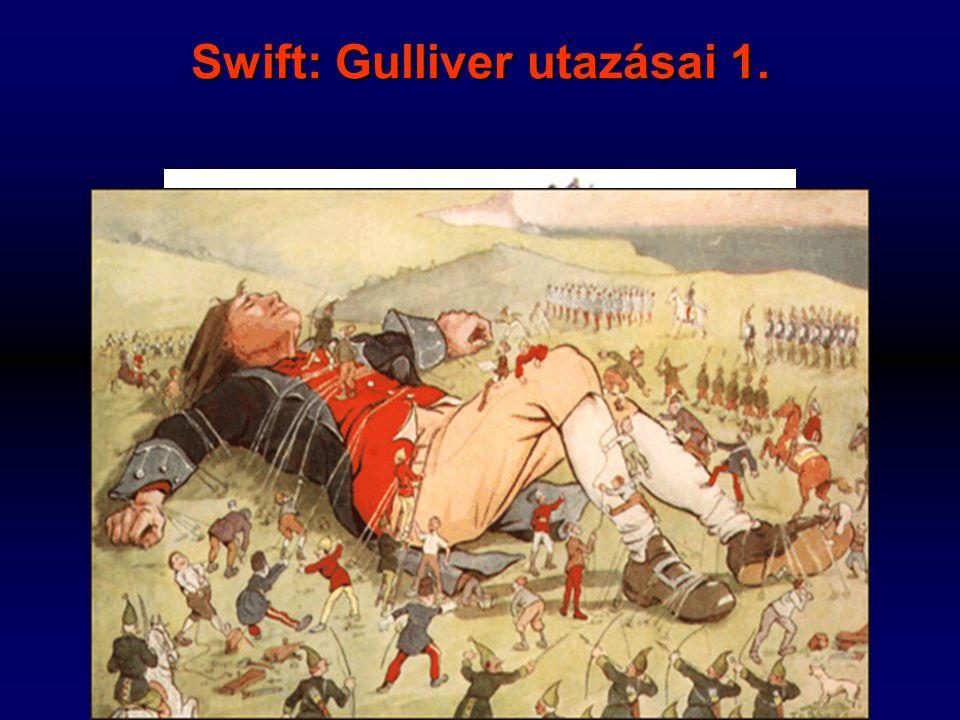 Swift: Gulliver utazásai 1.