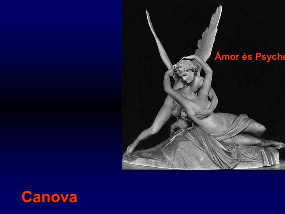 Ámor és Psyché Canova