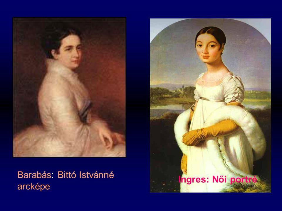 Barabás: Bittó Istvánné arcképe