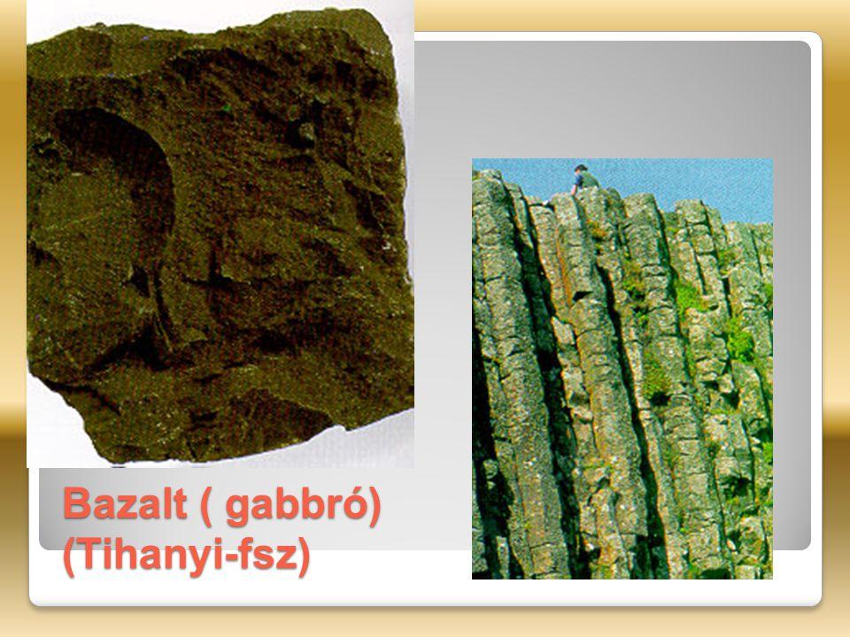 Bazalt ( gabbró) (Tihanyi-fsz)