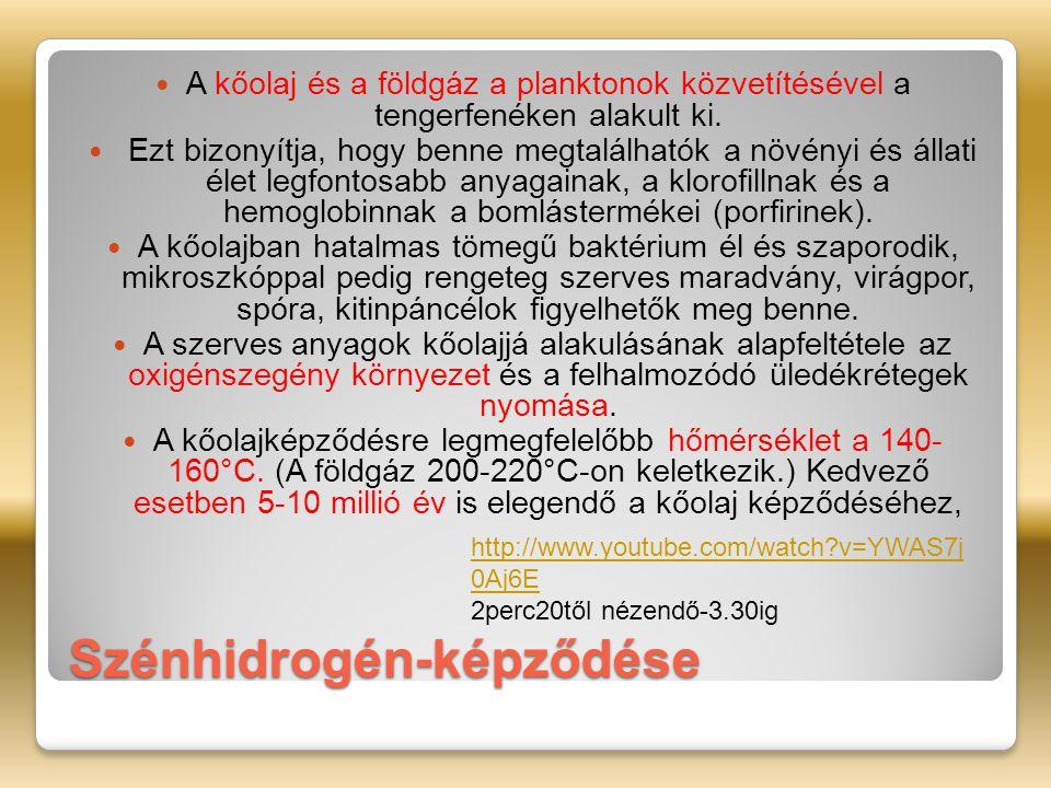 Szénhidrogén-képződése