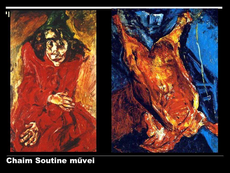 Chaim Soutine művei