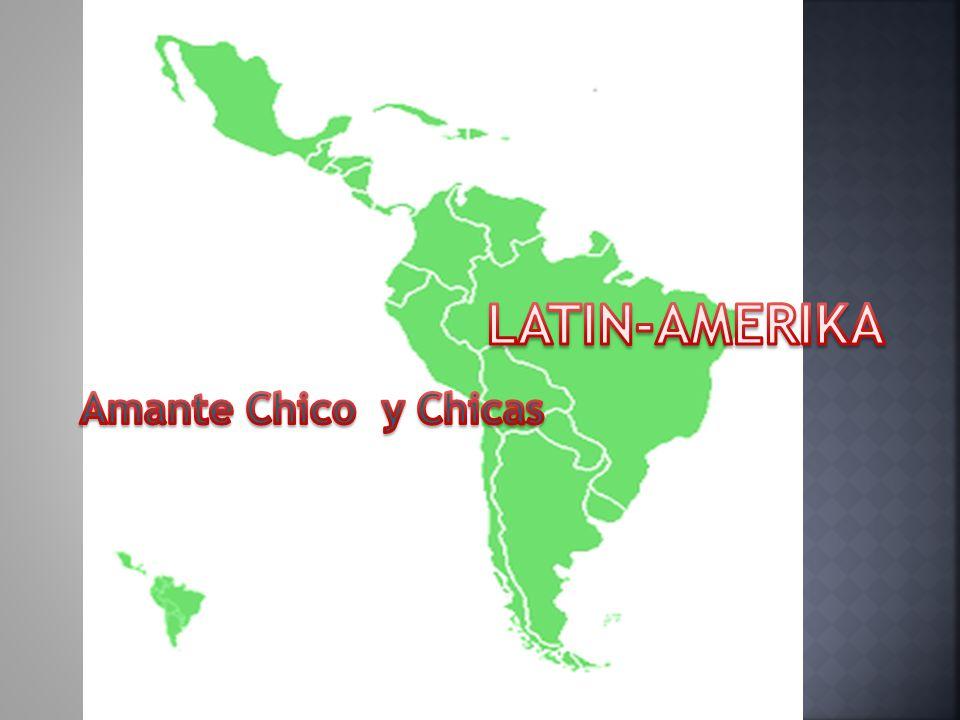 Latin-Amerika Amante Chico y Chicas