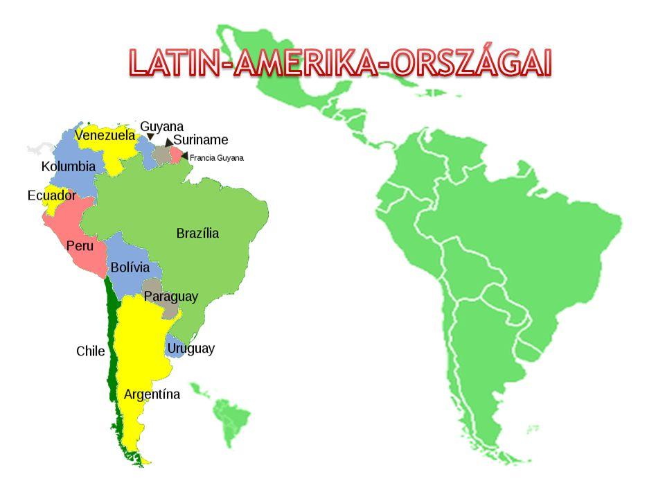 Latin-Amerika-országai