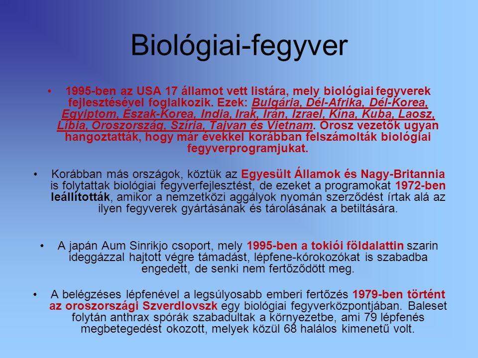Biológiai-fegyver
