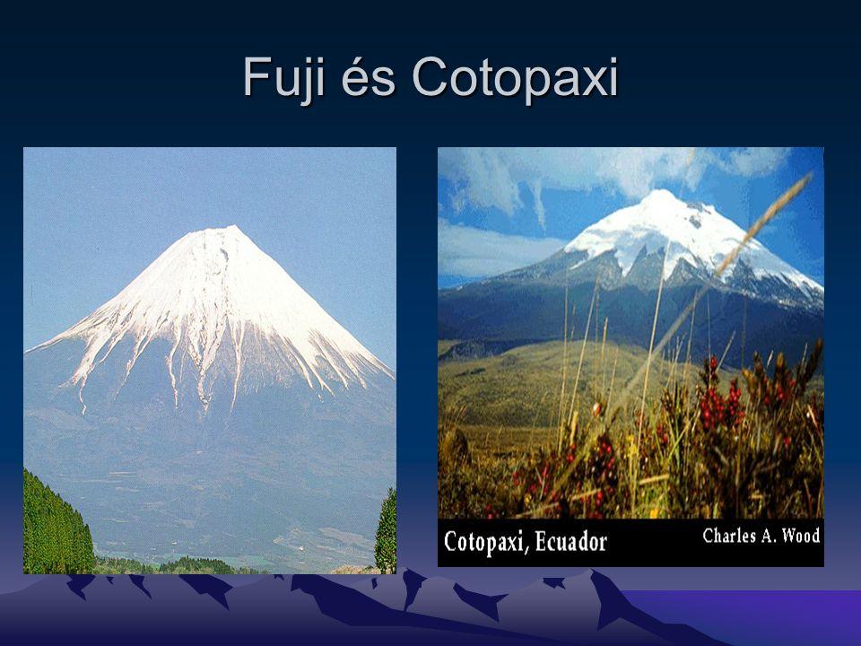 Fuji és Cotopaxi