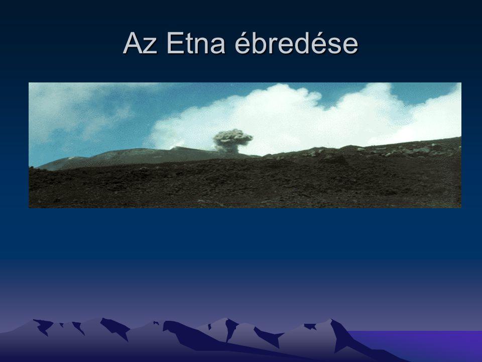 Az Etna ébredése