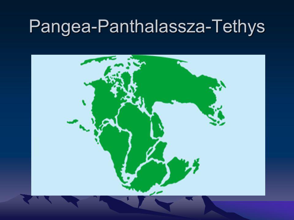 Pangea-Panthalassza-Tethys