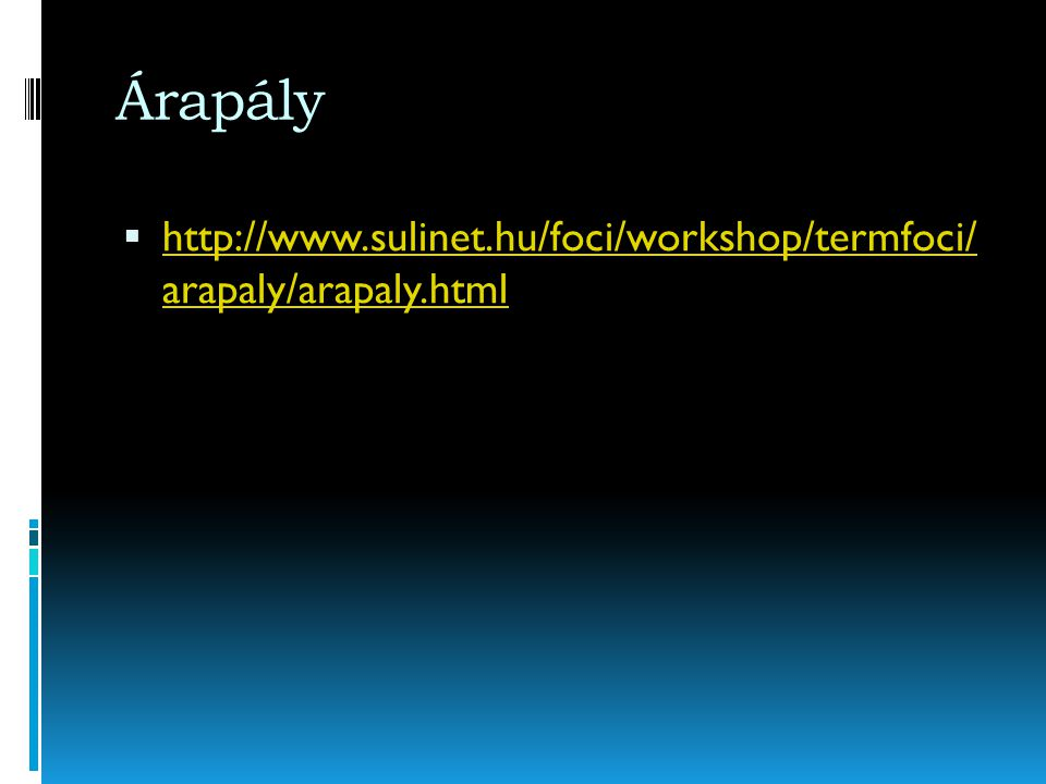 Árapály http://www.sulinet.hu/foci/workshop/termfoci/ arapaly/arapaly.html