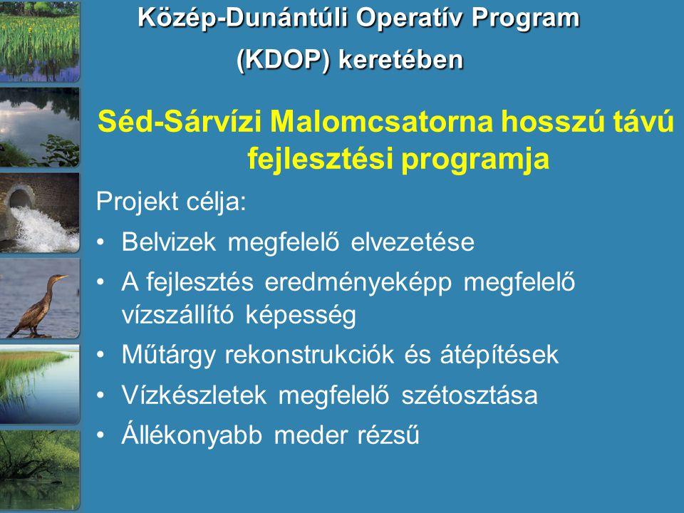 Közép-Dunántúli Operatív Program (KDOP) keretében