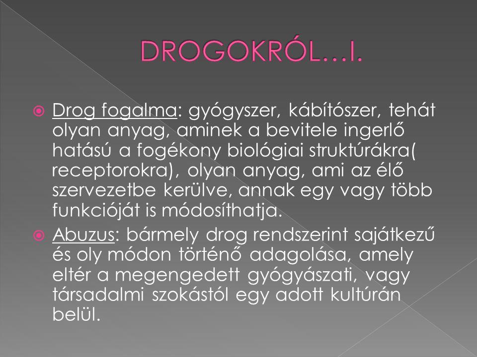 DROGOKRÓL…I.