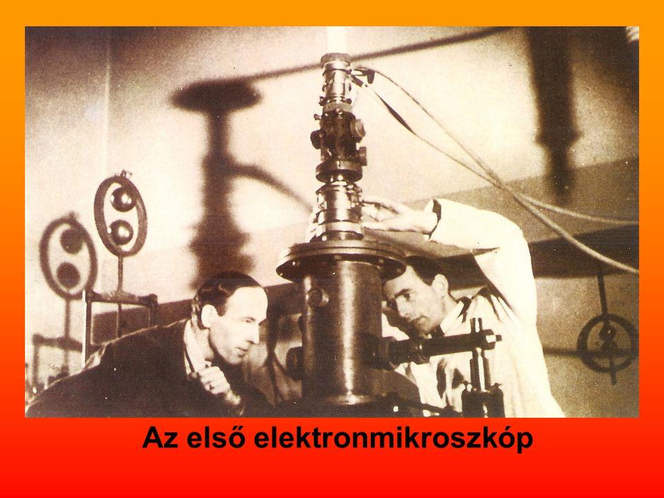 Az első elektronmikroszkóp