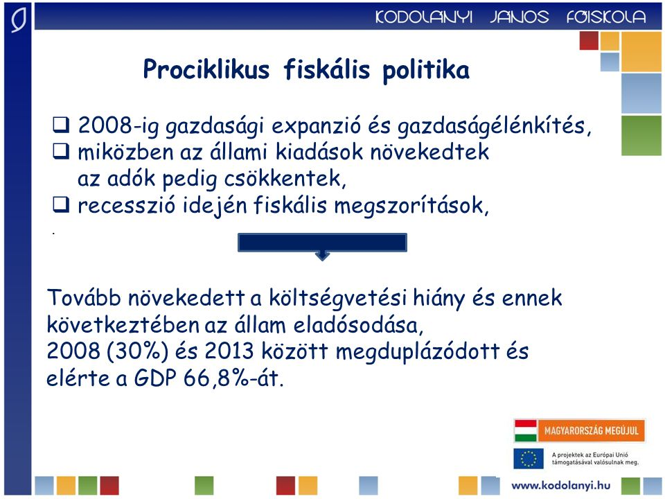 Prociklikus fiskális politika