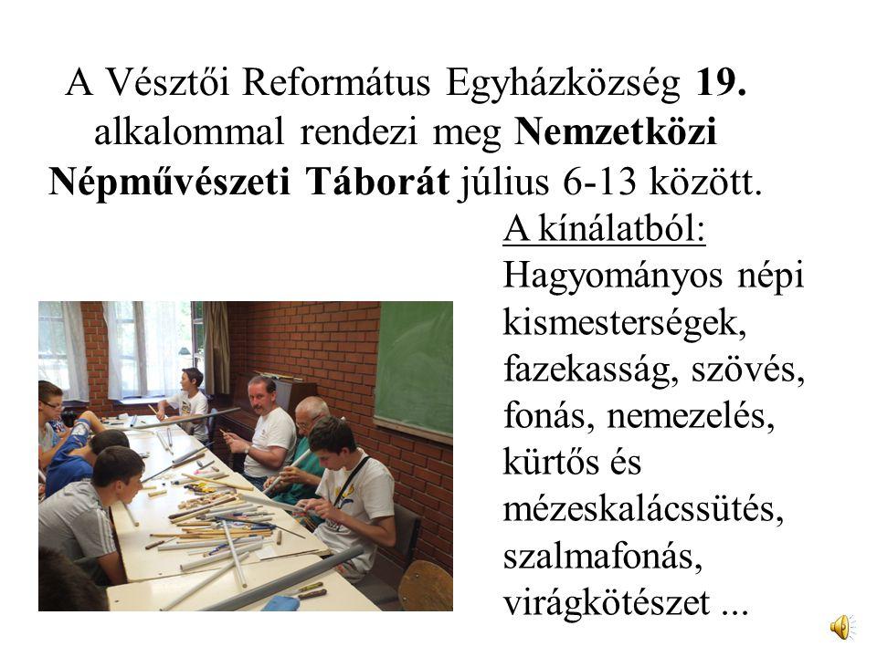 A Vésztői Református Egyházközség 19