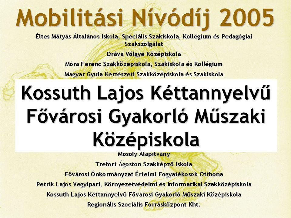 Kossuth Lajos Kéttannyelvű Fővárosi Gyakorló Műszaki Középiskola