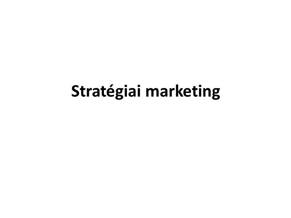 Stratégiai marketing