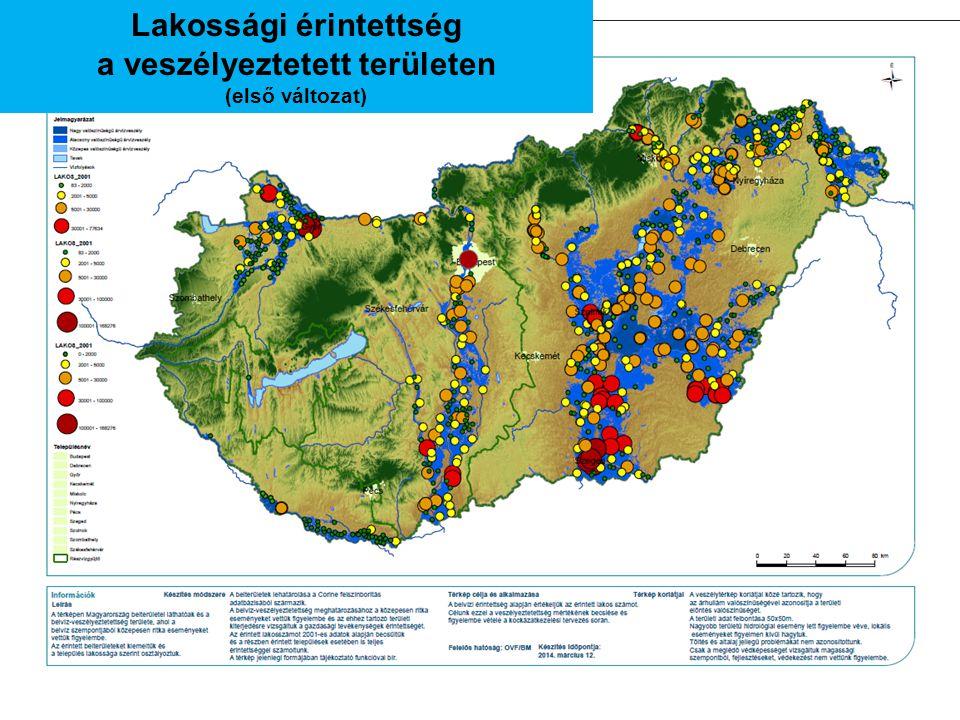 Lakossági érintettség a veszélyeztetett területen