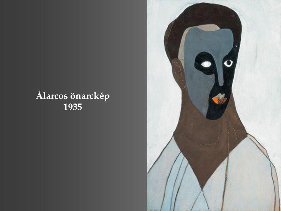 Álarcos önarckép 1935