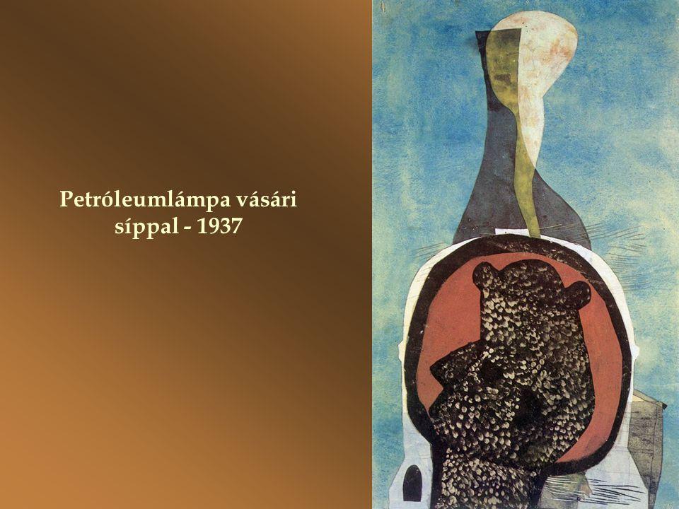 Petróleumlámpa vásári síppal - 1937