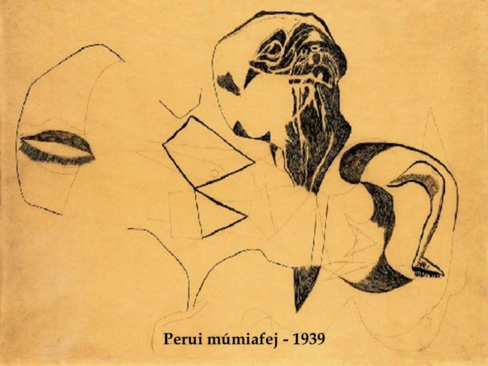 Perui múmiafej - 1939