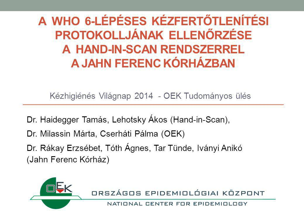 Kézhigiénés Világnap 2014 - OEK Tudományos ülés