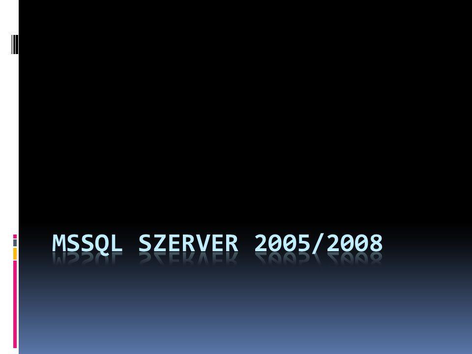 MSSQL szerver 2005/2008
