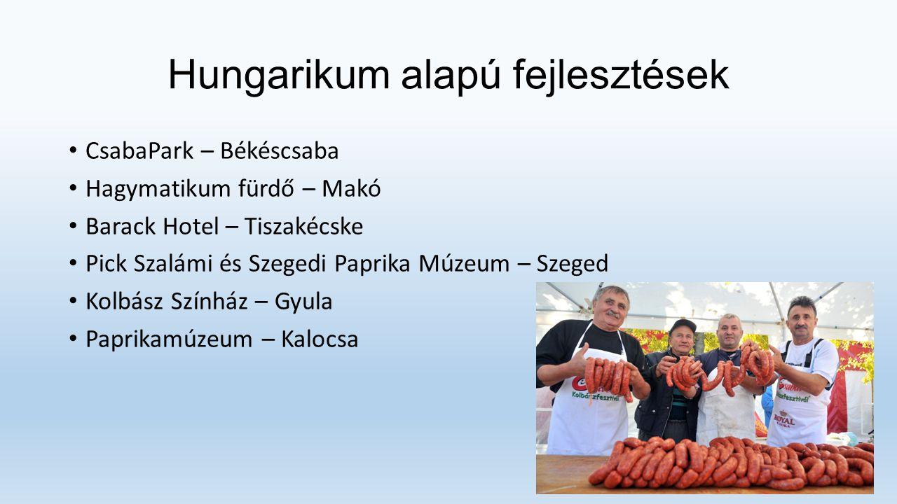 Hungarikum alapú fejlesztések