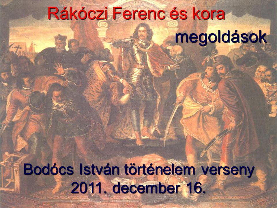 Bodócs István történelem verseny 2011. december 16.
