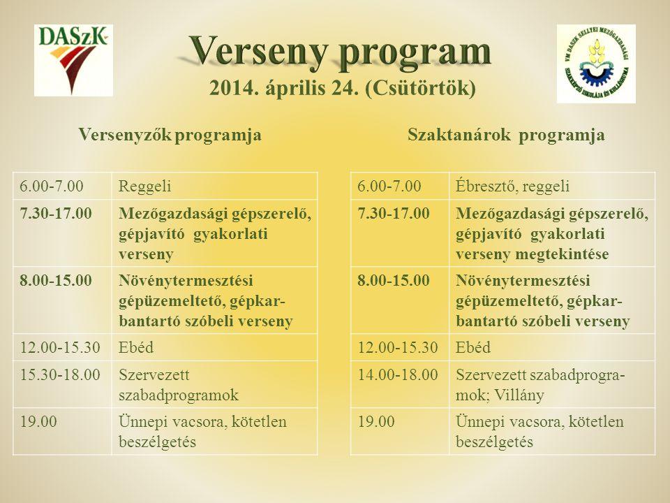 Szaktanárok programja