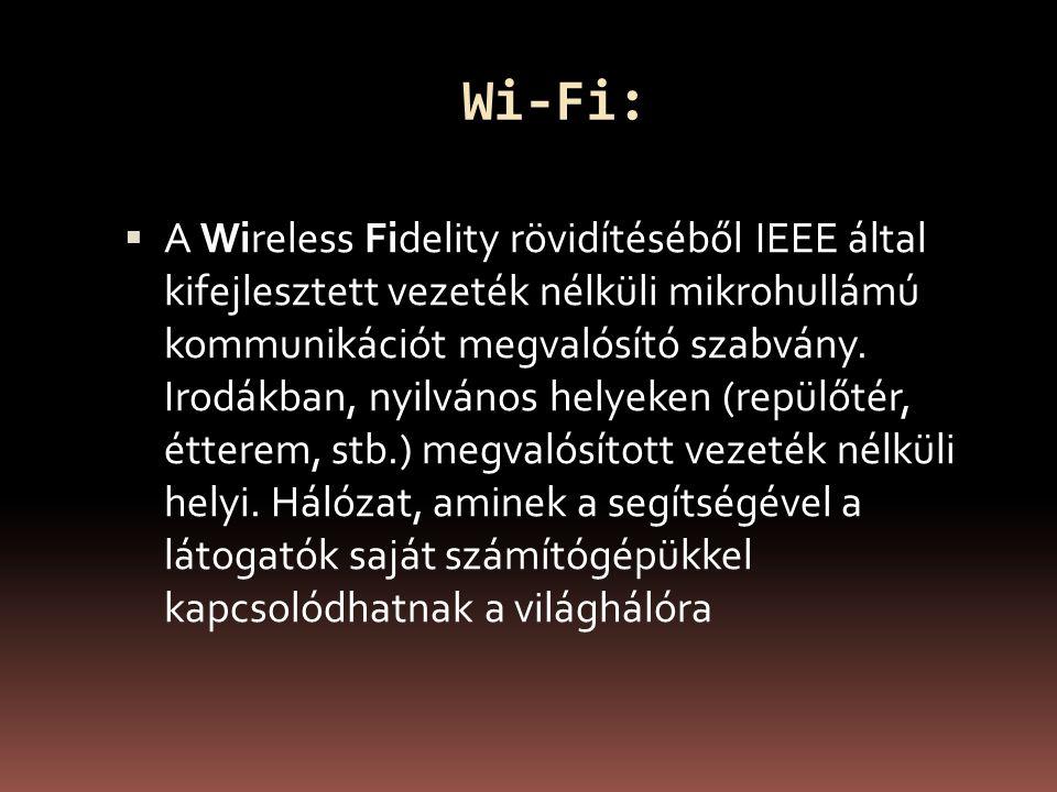 Wi-Fi: