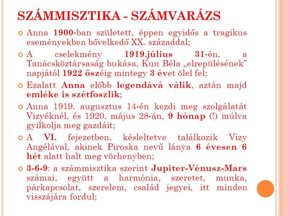 SZÁMMISZTIKA - SZÁMVARÁZS