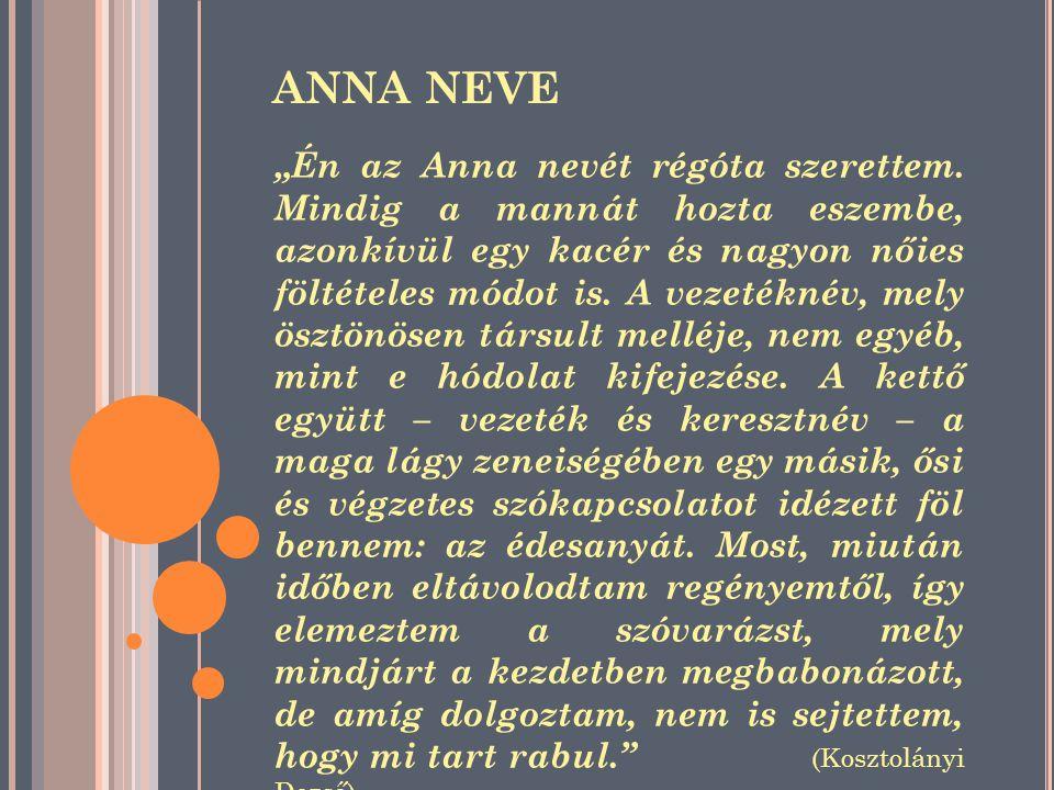 ANNA NEVE