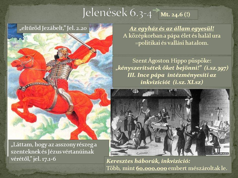 III. Ince pápa intézményesíti az inkvizíciót (i.sz. XI.sz)