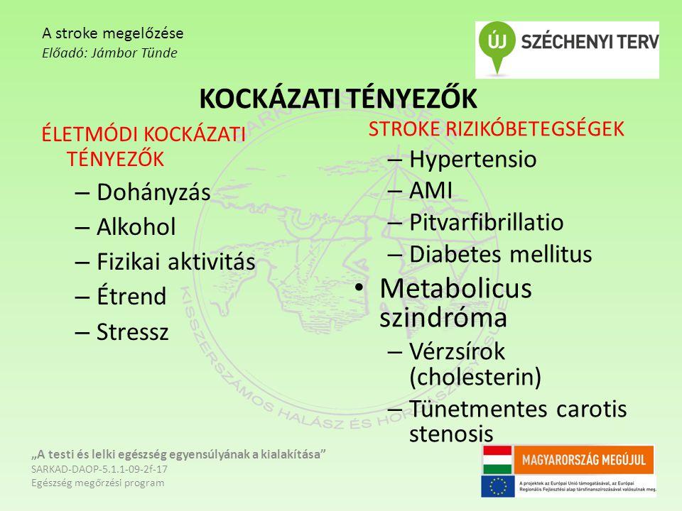 Metabolicus szindróma