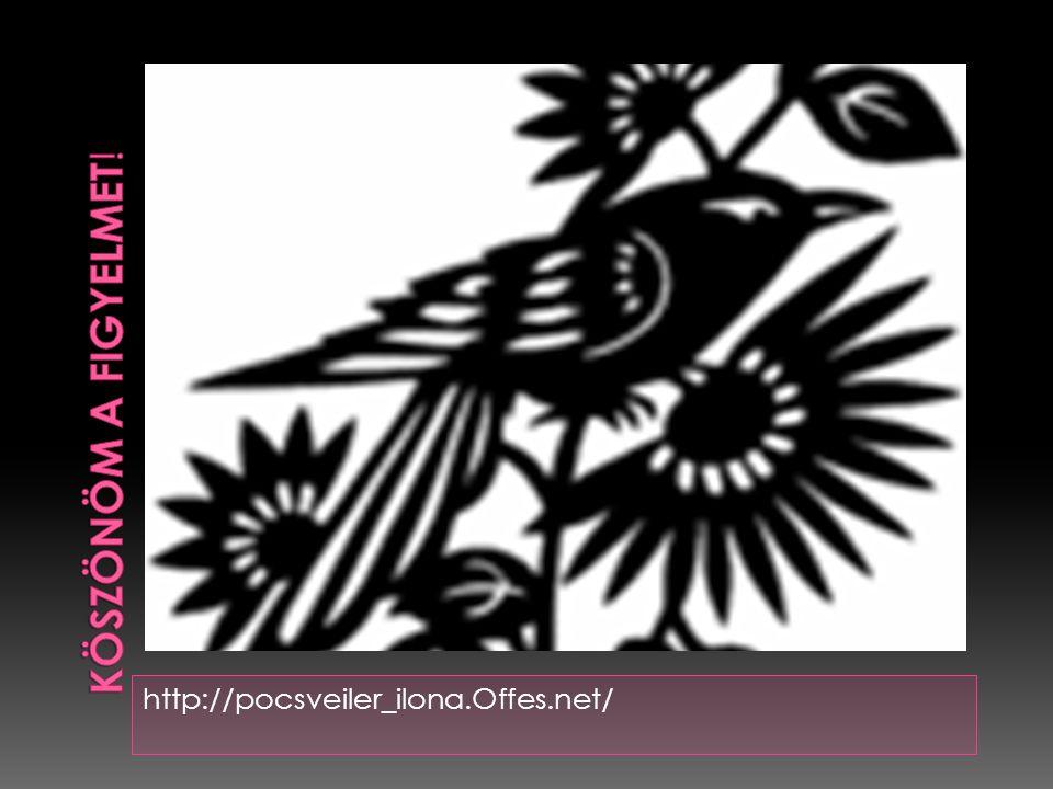 KÖSZÖNÖM A FIGYELMET! http://pocsveiler_ilona.Offes.net/