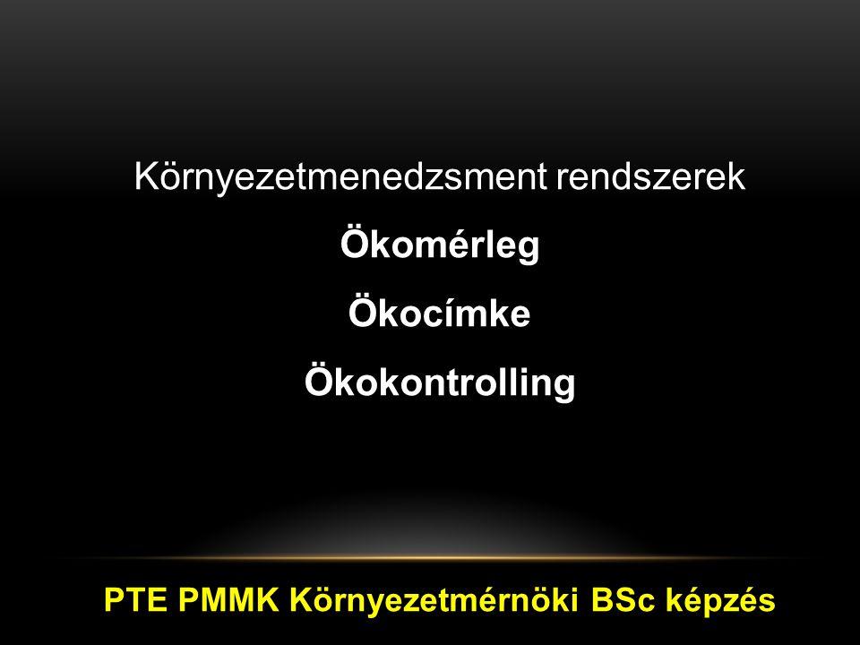 PTE PMMK Környezetmérnöki BSc képzés