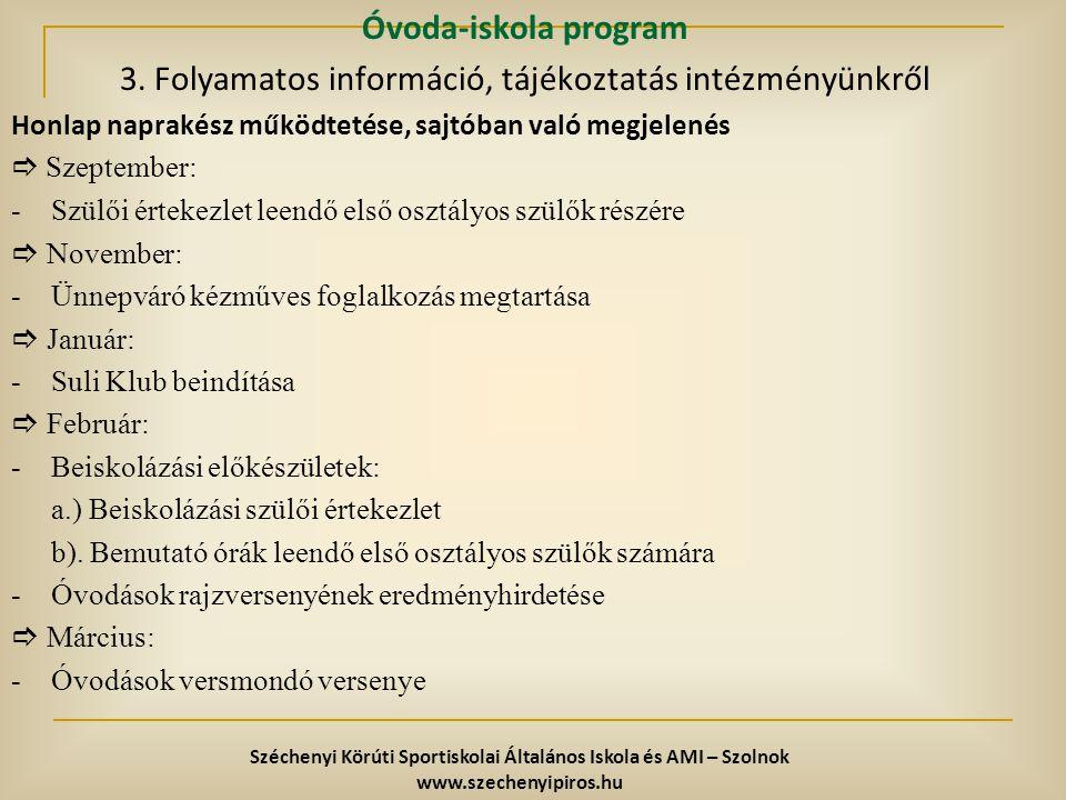 Széchenyi Körúti Sportiskolai Általános Iskola és AMI – Szolnok