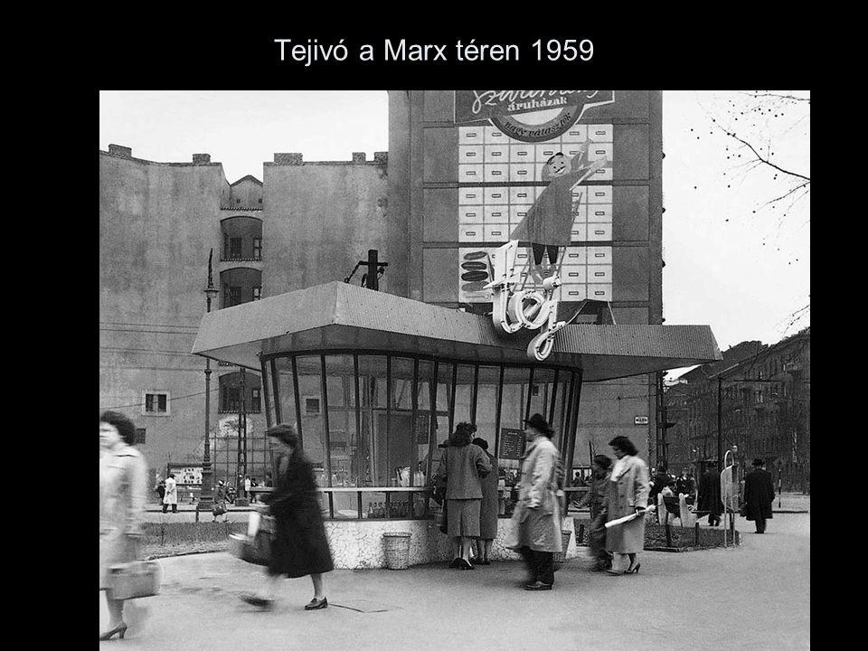 Tejivó a Marx téren 1959