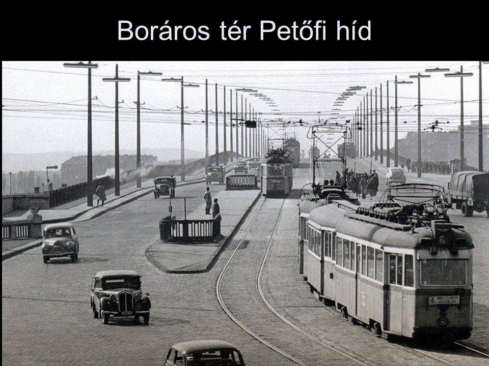 Boráros tér Petőfi híd