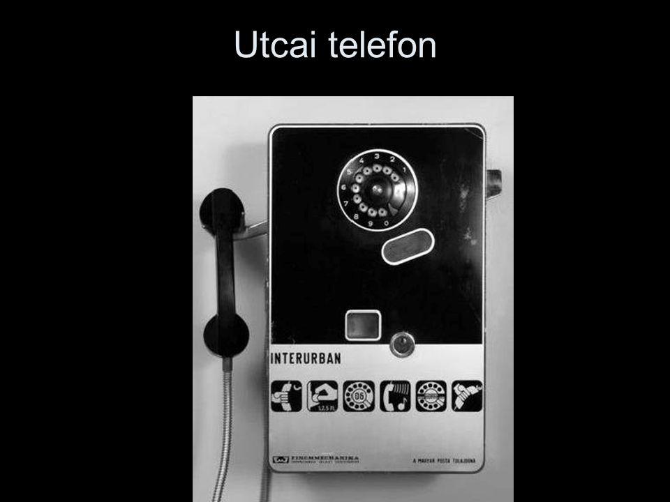 Utcai telefon